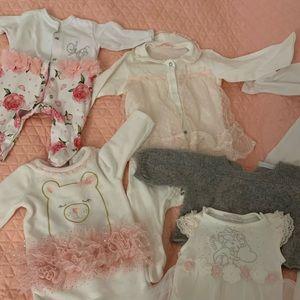 Baby Girl bundle / 30+ items